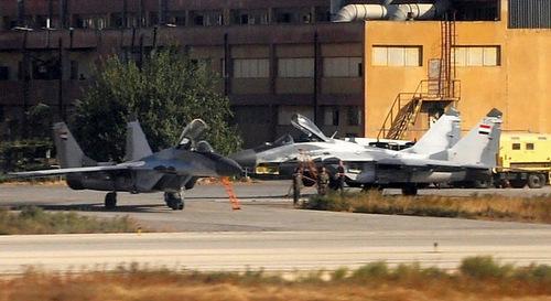 Tiêm kích MiG-29 trong biên chế quân đội Syria. Ảnh: National Interest.