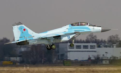 Tiêm kích MiG-35 Nga bay thử hồi đầu năm 2019. Ảnh: Russian Planes.