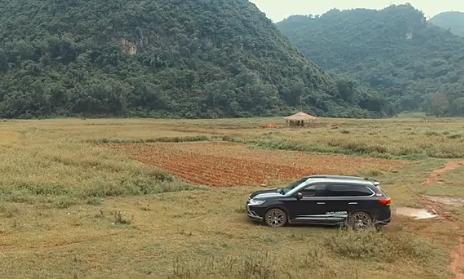 Mitsubishi Outlander chinh phục 'thung lũng vàng' Bắc Sơn