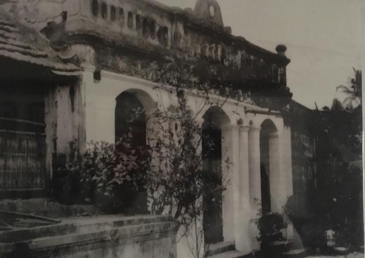 Ngôi nhà của gia đình ông Công Ngọc Dũng ngày xưa. Ảnh tư liệu.