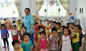 TP HCM giáo dục giới tính cho trẻ mầm non
