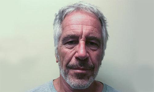 Jeffrey Epstein trước khi chết tại nhà giam ở New York. Ảnh: NYDailynews.
