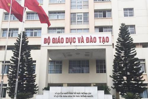 Trụ sở Bộ Giáo dục và Đào tạo trên đường Đại Cồ Việt, Hà Nội. Ảnh: XH