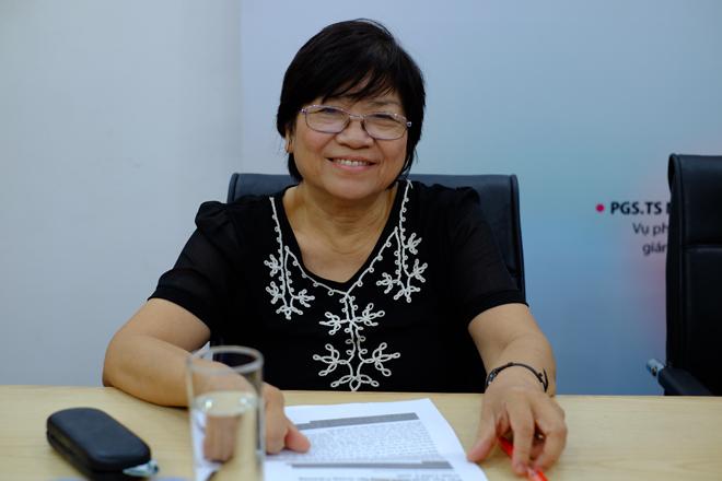 Giáo sư, Tiến sĩ Lê Phương Nga (Đại học Sư phạm Hà Nội).