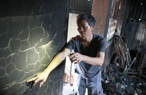 Ông Bùi Văn Đoàn, 56 tuổi (số nhà 66, ngõ 342 Khương Đình, phường Hạ Đình, Thanh Xuân, Hà Nội). Ảnh: Tất Định