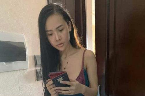 Nguyễn Thị Cúc tại cơ quan điều tra.