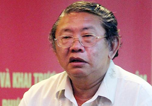 Ông Phạm Văn Sáng khi còn làm Giám đốc Sở Khoa học và Công nghệĐồng Nai. Ảnh:Phước Tuấn.