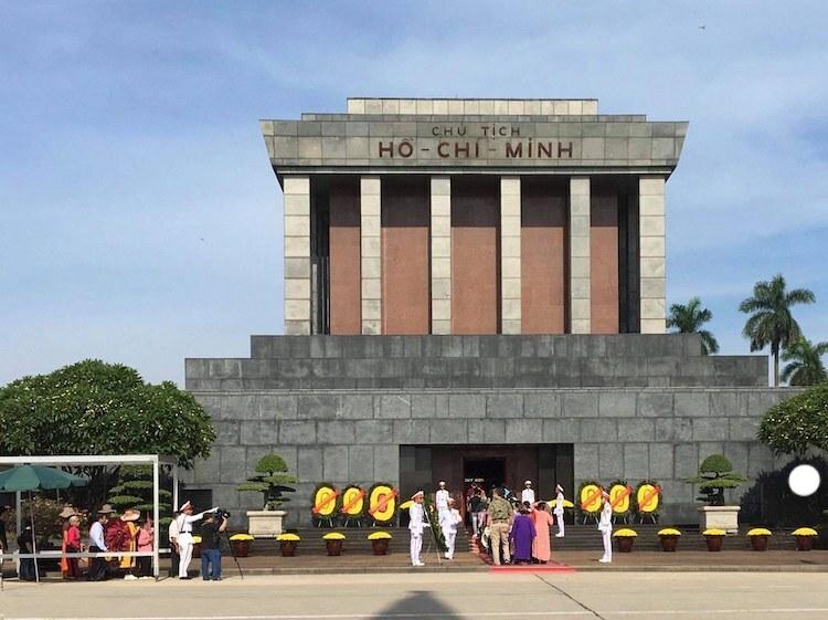 Lăng Chủ tịch Hồ Chí Minh. Ảnh: Gia Chính