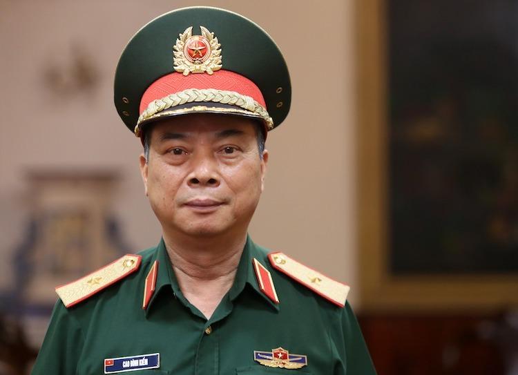 Thiếu tướng Cao Đình Kiếm, Chính uỷ Bộ tư lệnh Bảo vệ Lăng Chủ tịch Hồ Chí Minh.Ảnh: Gia Chính