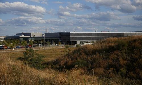 Khu vực dự kiến xây dựng nhà máy ắc quy của CATL tại Arnstadt. Ảnh: NYTimes.
