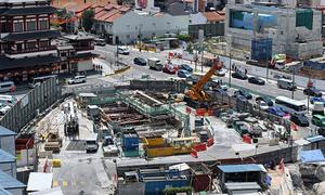 Singapore tham vọng ngầm hóa đất nước