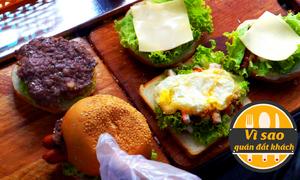 Tiệm bánh hamburger bán gần 400 cái mỗi ngày