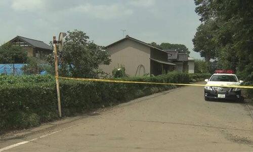 Hiện trường hai vợ chồng lớn tuổi người Nhật bị tấn công hồi tháng 8. Ảnh: NHK.