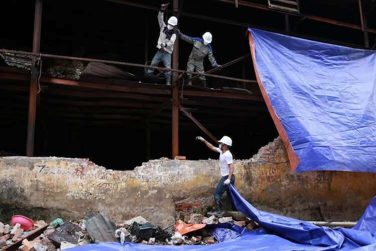 Công bố kết quả quan trắc môi trường sau vụ cháy nhà kho Rạng Đông