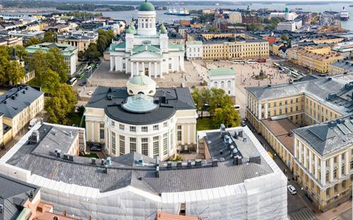 Một góc Đại học Helsinki. Ảnh: Helsinki