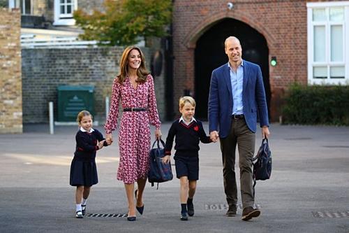 Gia đình hoàng gia Anh. Ảnh: Mirror