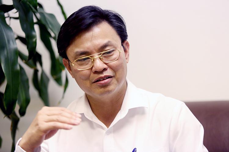 Ông Hoàng Văn Thức, Phó Tổng Cục trưởng Tổng Cục môi trường. Ảnh: Gia Chính.