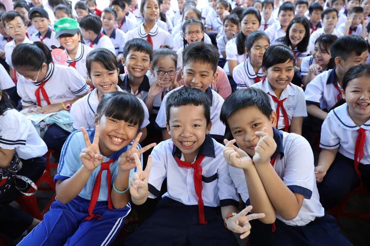22 triệu học sinh vào năm học mới