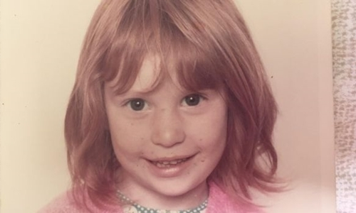 Jeni Haynes khi còn bé. Ảnh: BBC.