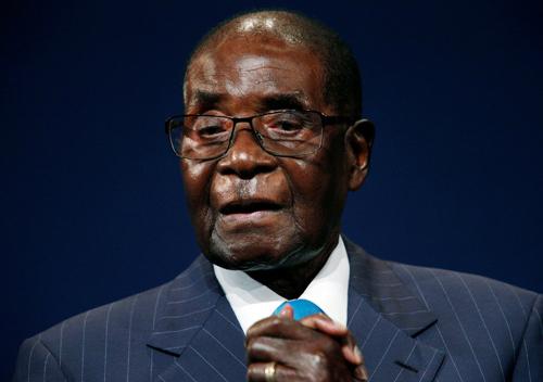 Cựu tổng thốngZimbabweRobert Mugabe. Ảnh: Reuters.