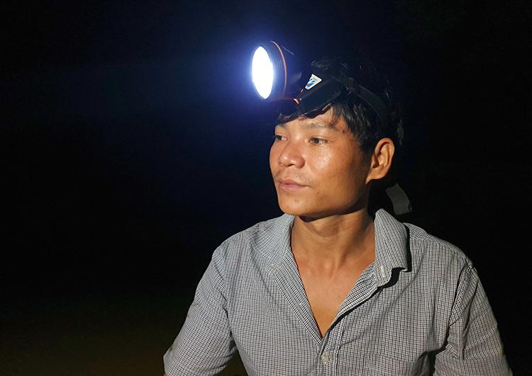 Anh Nguyễn Văn Tuân. Ảnh: Đức Hùng