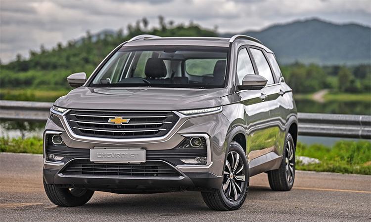 Chevrolet Captiva thế hệ mới giá từ 32.600 USD tại Thái Lan, bán ra từ 6/10.