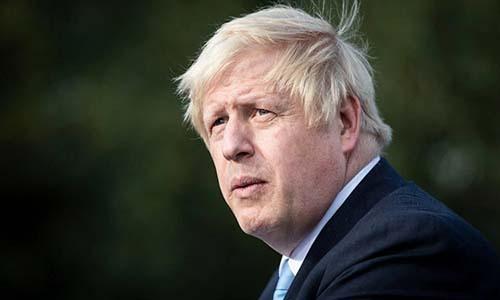 Thủ tướng Anh Boris Johnson. Ảnh: Sun.