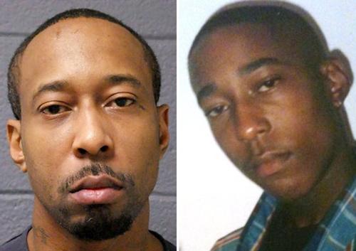 Ảnh của James khi 35 tuổi (trái) và khi còn thiếu niên. Ảnh: MDOC.