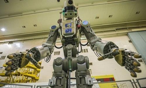 Robot Skybot F-850 hay còn gọi làFedor. Ảnh: Live Science.