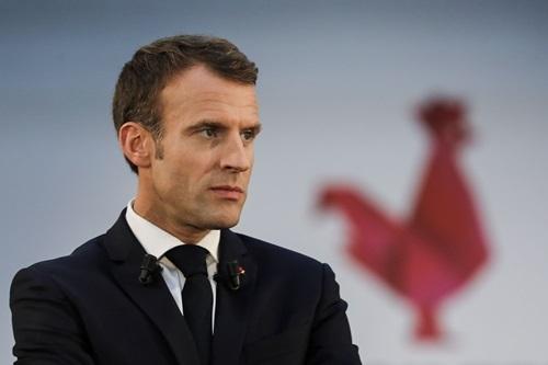 Tổng thống Pháp Emmanuel Macron. Ảnh: AFP.