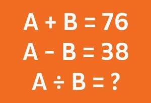 Bài toán kích thích tư duy