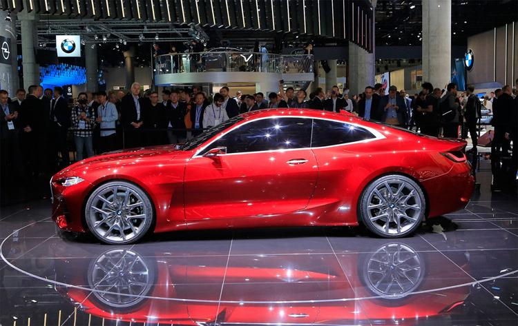 Ngoại hình của Concept 4 là dạng coupe 2 cửa. Ảnh: Carscoops