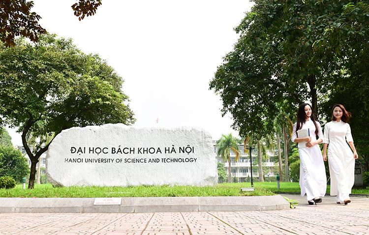 Một góc trong khuôn viên Đại học Bách khoa Hà Nội. Ảnh: HUST