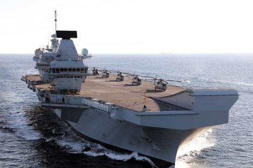 Tàu sân bay HMS Queen Elizabeth của Anh. Ảnh: UKDefencejournal.