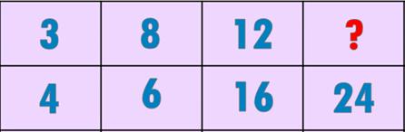Ba bài toán rèn thông minh - 1