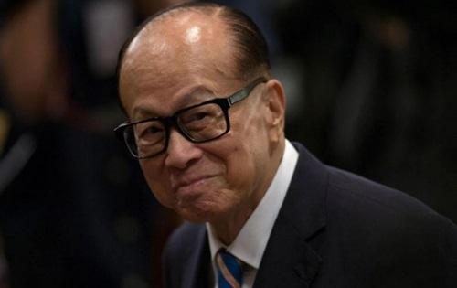 Tỷ phú Hong Kong Lý Gia Thành. Ảnh: Reuters.
