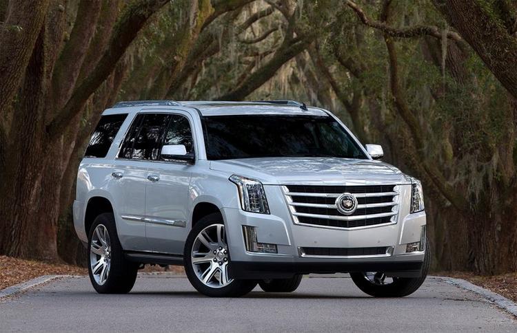 Cadillac Escalade 2015 có tên trong danh sách triệu hồi. Ảnh: Cadillac