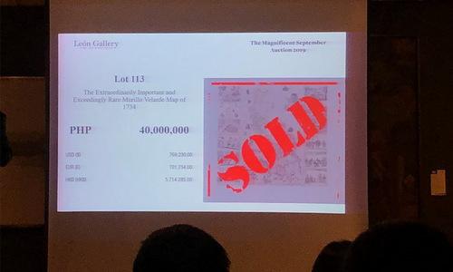 Bản đồ cổ giá gần một triệu USD