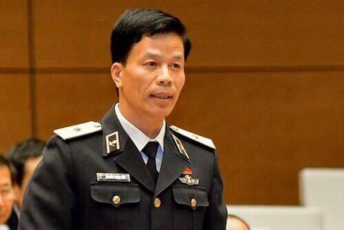 Chuẩn Đô đốc Hải quân Nguyễn Trọng Bình. Ảnh: Trung tâm báo chí Quốc hội