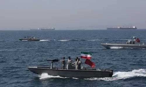 Xuồng cao tốc vũ trang của Lực lượng Vệ binh Cách mạng Hồi giáo Iran. Ảnh: AFP.