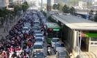 Chỉ dành đường riêng cho buýt nhanh BRT giờ cao điểm