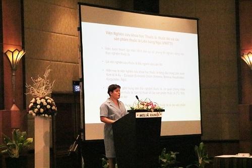 Tiến sĩ Evgenia Gnuchikh, Phó Viện trưởng Viện nghiên cứu khoa học Thuốc lá Krasnodar, Bộ Khoa học và Đại học Liên bang Nga.