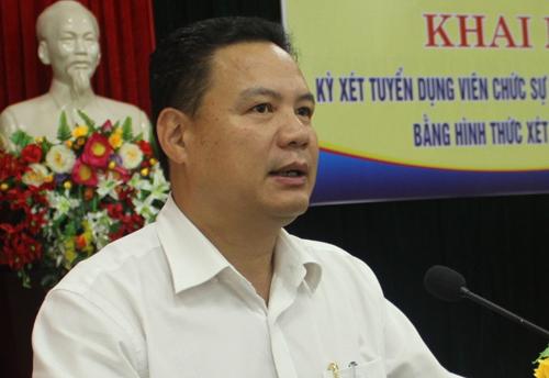 Ông Lê Văn Thanh. Ảnh: Cổng thông tin tỉnh Quảng Nam.