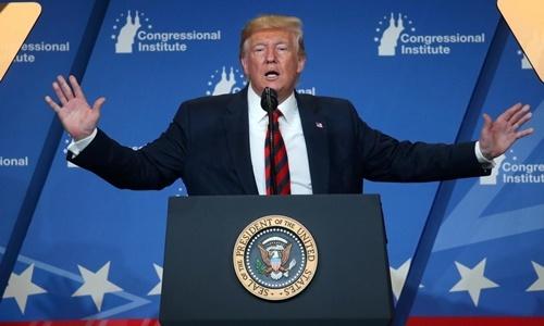 Tổng thống Mỹ Donald Trump phát biểu ở Baltimore, Maryland, ngày 12/9. Ảnh: Reuters.