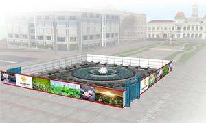 Những đổi mới của phố đi bộ Nguyễn Huệ