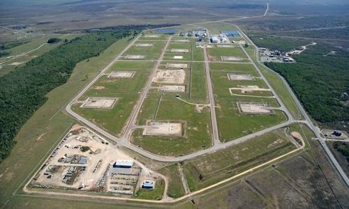 Cơ sở dự trữ dầu của Mỹ tại Big Hill, Texas. Ảnh: CLUI.