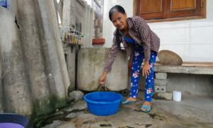 Hàng nghìn hộ dân dùng nước nhiễm phèn sinh hoạt