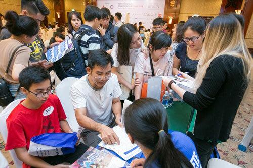 Triển lãm du học mùa Thu 2019 sẽ diễn ra tại 3 thành phố lớn là TP HCM, Đà Nẵng, và Hà Nội.