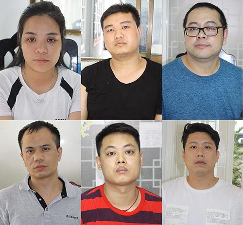 Sầm Thị Sen cùng nhóm người Trung Quốc có hành vi phạm tội. Ảnh: N.P.