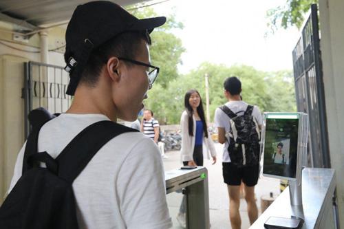 Công nghệ AI áp dụng ở trường học Trung Quốc. Ảnh: SCMP